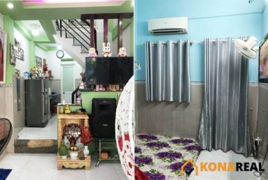 Nhà hẻm đường Tôn Thất Thuyết quận 4 2.95x9.86m