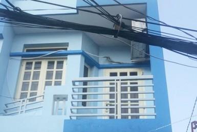 Nhà hẻm đường Tôn Thất Thuyết quận 4 3.5x16m
