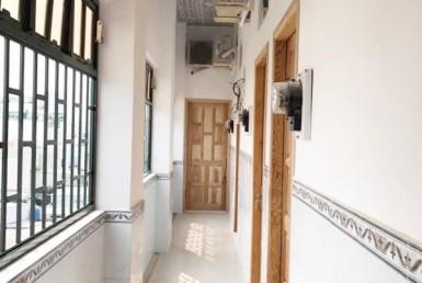 Tòa nhà CHDV Dương Bá Trạc quận 8 6x20m