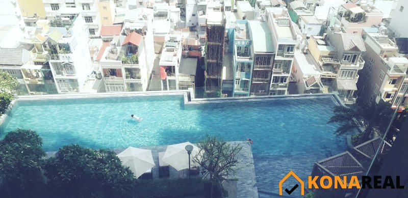 Hồ bơi chung cư Millennium quận 4