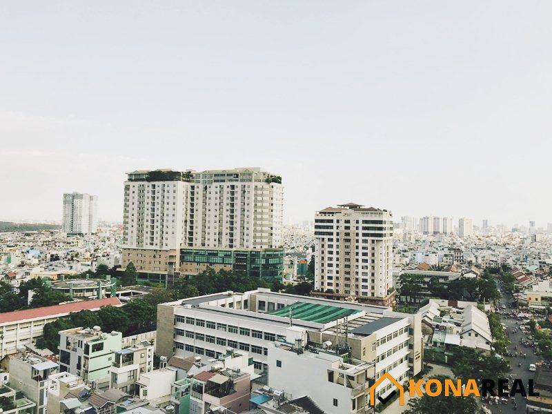 View từ chung cư Millennium quận 4