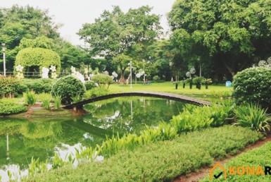 Công viên Khánh Hội quận 4 - Đường số 48