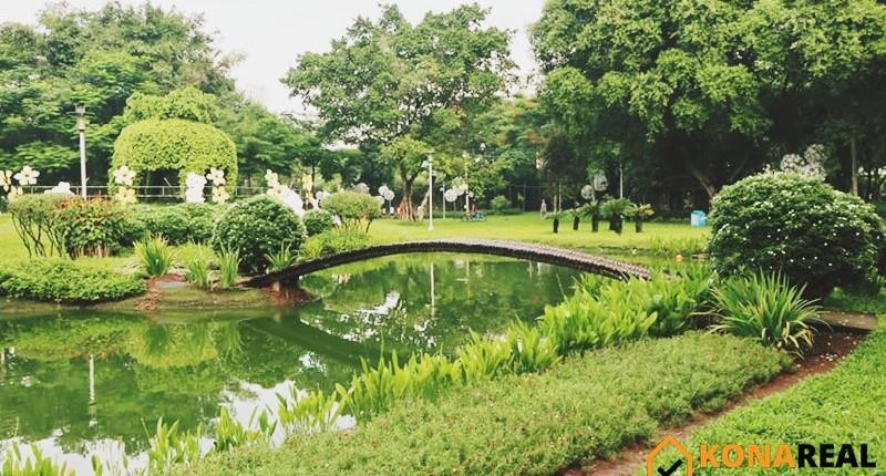 """Công viên Khánh Hội – """"Lá phổi xanh"""" của quận 4"""