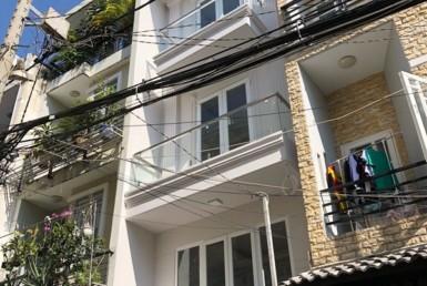 Nhà đường Phan Chu Trinh Q. Bình Thạnh 3.65x12m