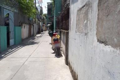 Nhà đường hẻm Tôn Thất Thuyết 5.19x16.32m