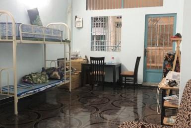 Nhà hẻm đường Hoàng Diệu quận 4 3.95x13.15m