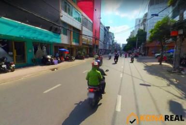 Tòa nhà đường Hồ Văn Huê quận Phú Nhuận 15.3x8m