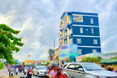 Nhà đường Phan Văn Trị quận Bình Thạnh 6x12m