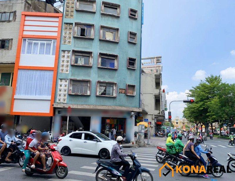 Nhà đường Trần Hưng Đạo quận 5 5x7m