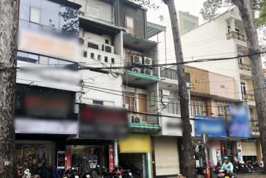 Nhà đường Trần Quang Khải quận 1 3.55x26.2m