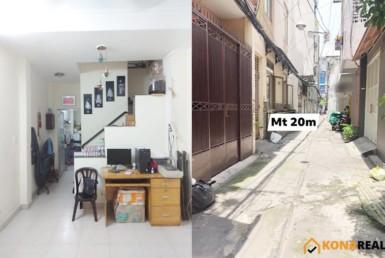 Nhà đường Nguyễn Đình Chiểu quận 3 3.11x12m
