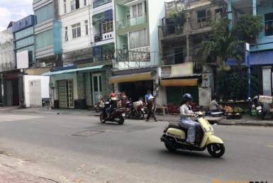 Nhà đường Nguyễn Khoái quận 4 7x17m