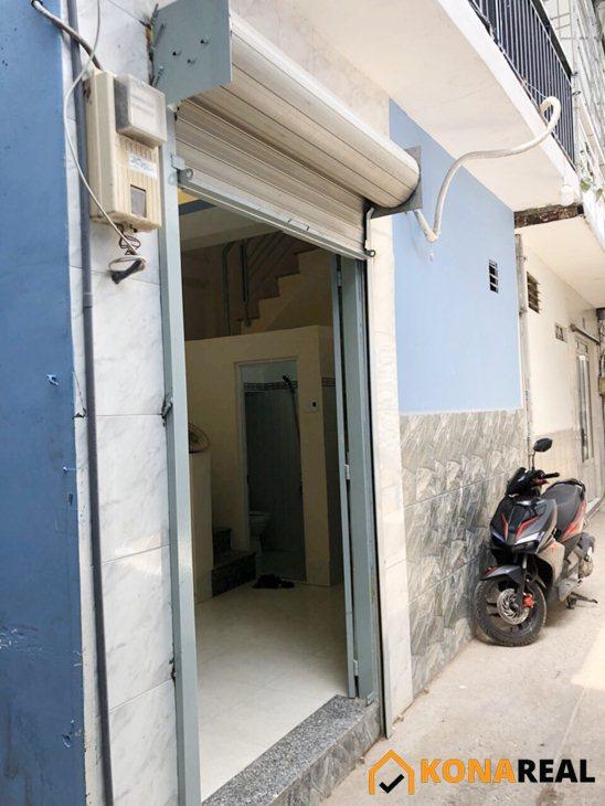 Nhà đường Tôn Thất Thuyết quận 4 16m2