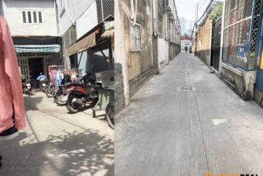 Nhà đường Tôn Thất Thuyết quận 4 3.55x7m