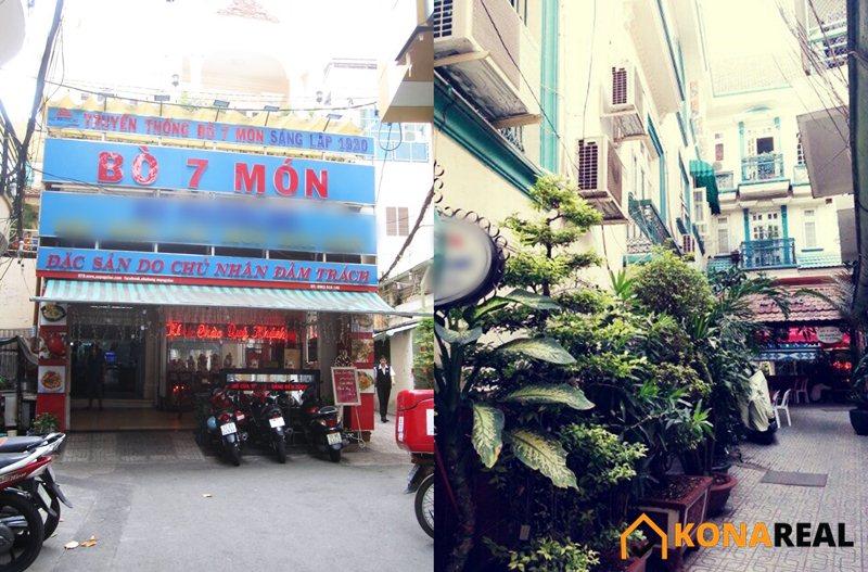 Nhà đường Trần Hưng Đạo quận 5 315m2