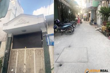 Nhà đường Cách Mạng Tháng 8 quận 3 3.35x28m