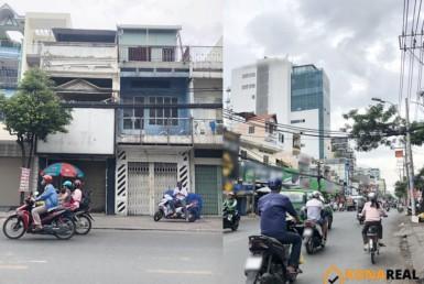Nhà đường Cách Mạng Tháng 8 quận Tân Bình 7.3x36.5m
