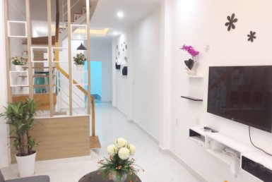 Nhà đường Khánh Hội quận 4 2.9x12.2m