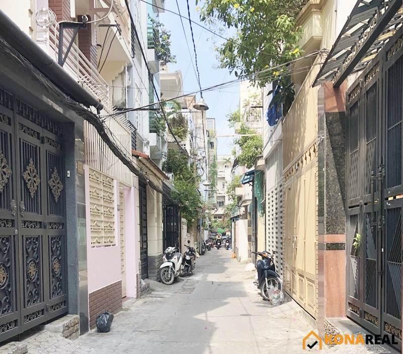 Nhà đường Nguyễn Đình Chiểu quận 3 3.05x12.5m