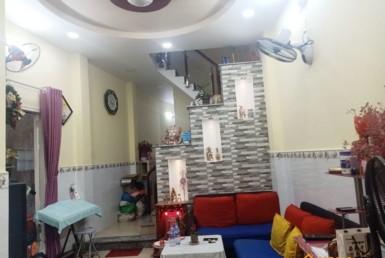 Nhà đường Nguyễn Khoái quận 4 43.6m2