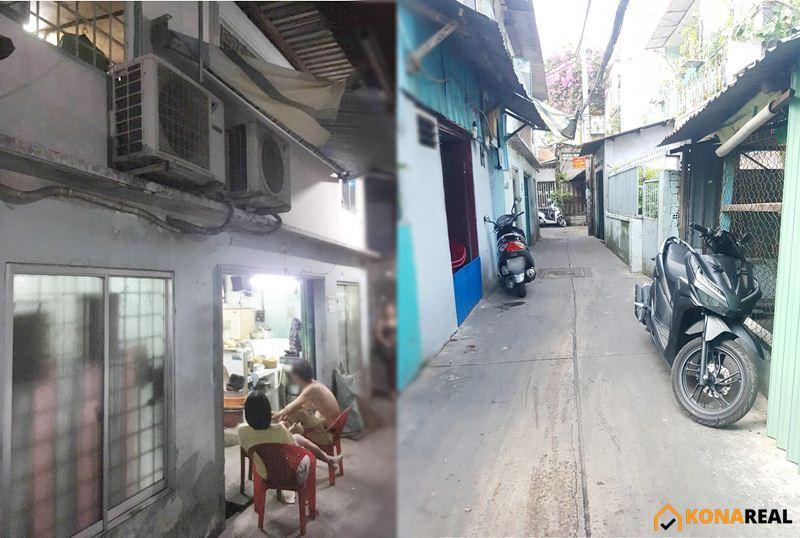 Nhà đường Nguyễn Khoái quận 4 7x8m
