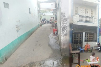 Nhà đường Tôn Thất Thuyết quận 4 3.8x14.5m