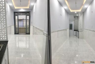 Nhà đường Tôn Thất Thuyết quận 4 3x9m