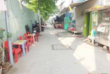 Nhà đường Tôn Thất Thuyết quận 4 47.6m2