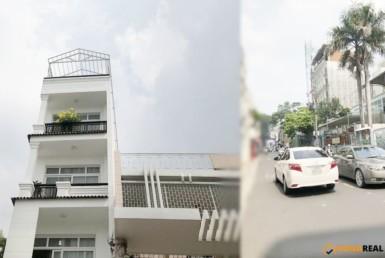 Nhà đường Trần Quang Diệu quận 3 4.2x18m