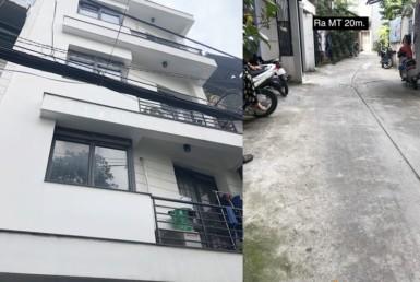 Nhà đường Trần Văn Đang quận 3 5.65x8m