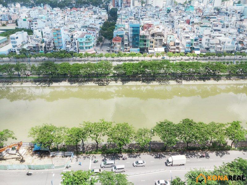 View chung cư Khánh Hội 2 quận 4