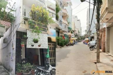 Nhà đường Cộng Hòa quận Tân Bình 3.57x8.99m