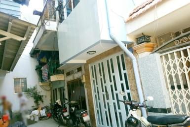 Nhà đường Tôn Đản quận 4 2.72x7.74m