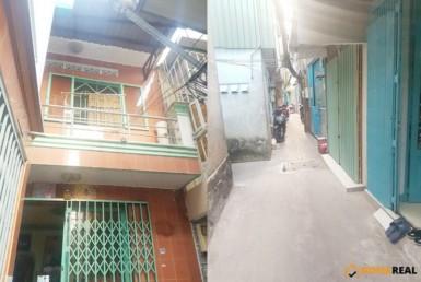 Nhà đường Tôn Đản quận 4 3.96x8.8m