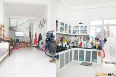 Nhà đường Tôn Thất Thuyết quận 4 3.6x15m