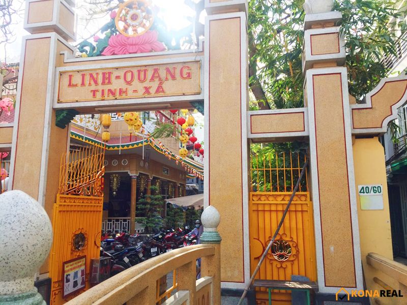 Chùa Linh Quang quận 4