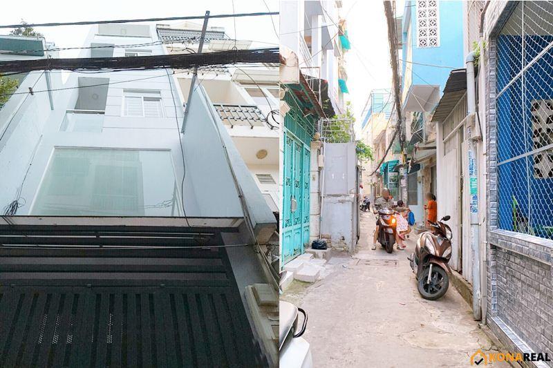 Nhà đường Huỳnh Văn Bánh quận Phú Nhuận 2.75x11m