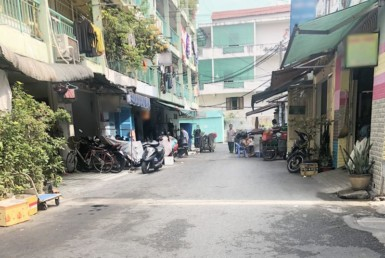 Nhà đường Nguyễn Thiện Thuật quận 3 3.5x7.57m