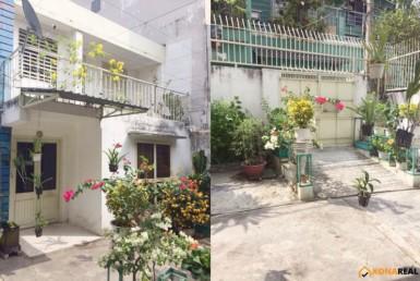 Nhà đường Tôn Thất Thuyết quận 4 8.6x20m