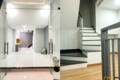 Nhà khu tái thiết Khánh Hội quận 4 3.54x9m
