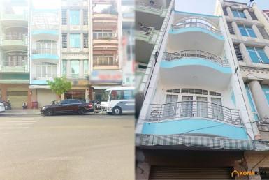 Nhà đường Hoàng Diệu quận 4 4x18m