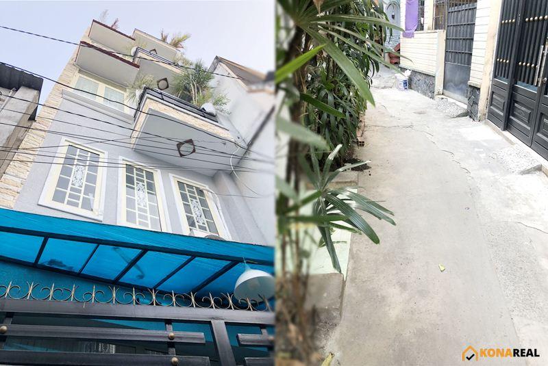 Nhà đường Nguyễn Công Hoan, Phú Nhuận 3.3x10m