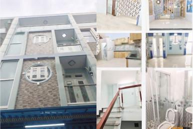 Nhà đường Nguyễn Duy Cung, quận Gò Vấp 5.2x11m