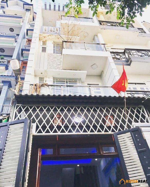 Nhà đường Phan Huy Ích, quận Gò Vấp 4x14m