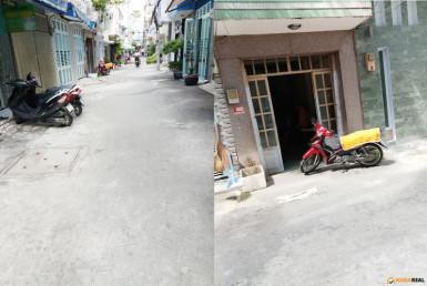 Nhà đường số 17, quận 4 3.06x7m