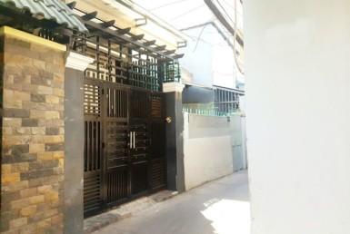 Nhà đường Tôn Thất Thuyết quận 4 3x14m