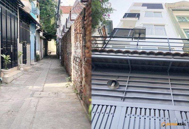 Nhà đường Trần Quang Diệu quận 3 3.8x12m