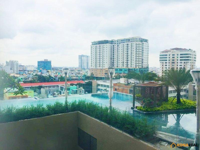 View hồ bơi chung cư Millennium quận 4