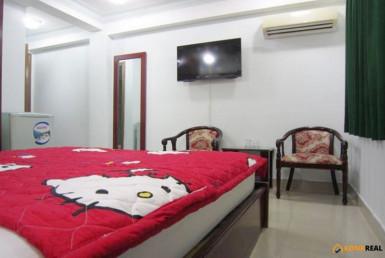 Khách sạn 15 phòng gần chợ Bến Thành quận 1 237m2
