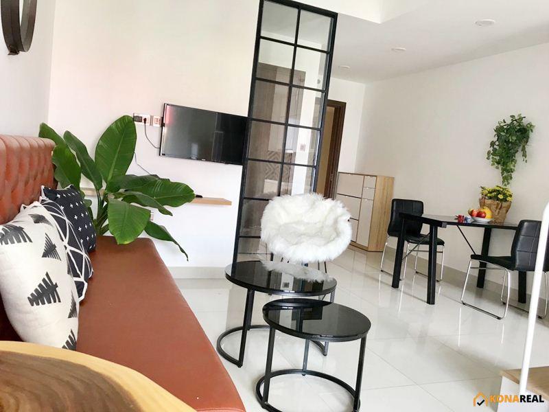 Căn hộ officetel duplex Saigon Royal quận 4 43.1m2